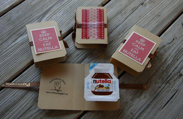 keep calm and eat nutella....good idea