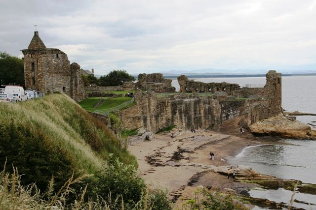 Old St Andrews Cathedral Scotland - Hubby and I renewed our wedding vows in this very place.  Love!!!