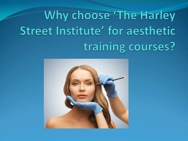 Why choose The Harley Street Institute for aesthetic training courses?  #facial #aesthetic #courses
