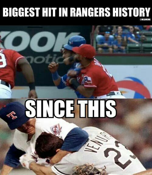 Rangers hit
