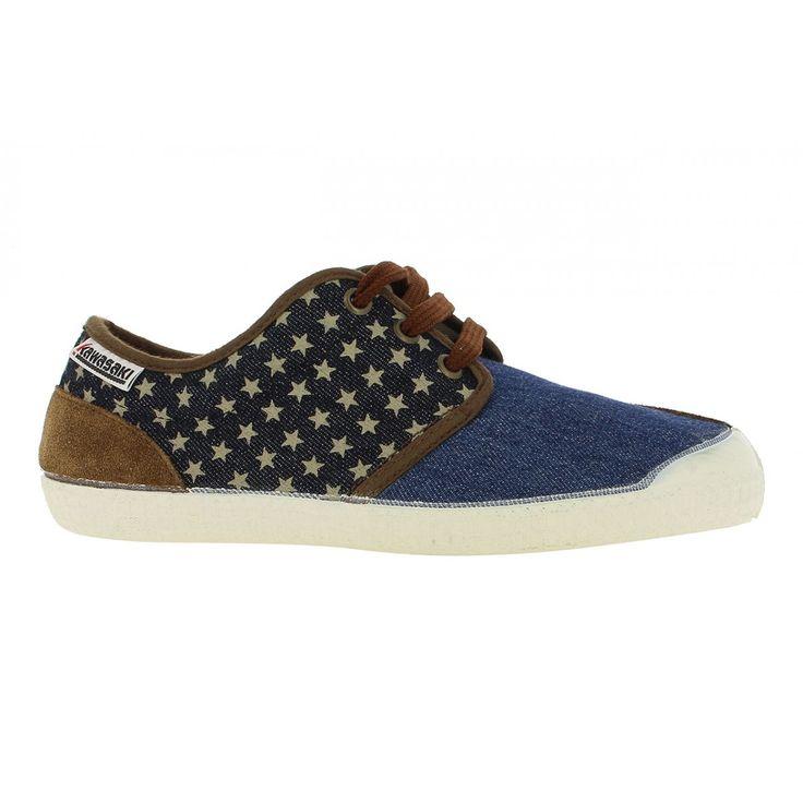 Zapatillas Kawasaki Okla Fantasy Denim #zapatillas #sneakers #moda #verano #lona