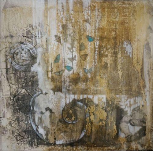 Kunstner: Elisabeth Werp   Teknikk: Maleri, tempera / blandingsteknikk   Motiv: 122x122 cm   Innrammet med grå ramme 128x128cm   5 % kunstavgift inkludert i prisen      Klikk på bildet for en større utgave   Merk! Tittel kommer