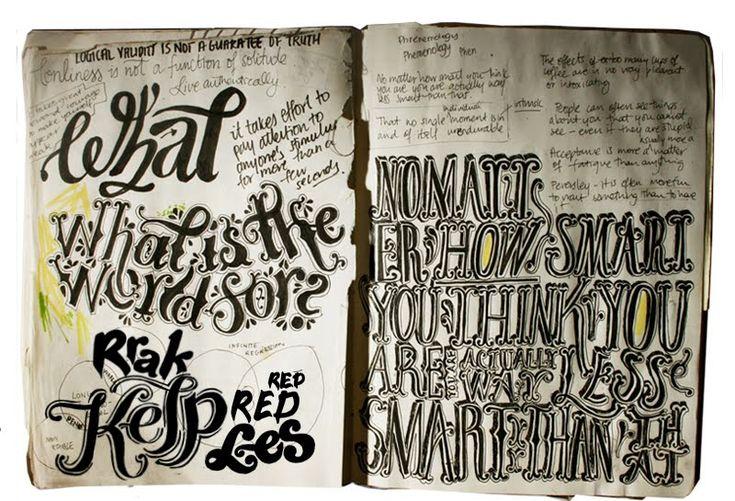 Nearly-forgotten sketch books