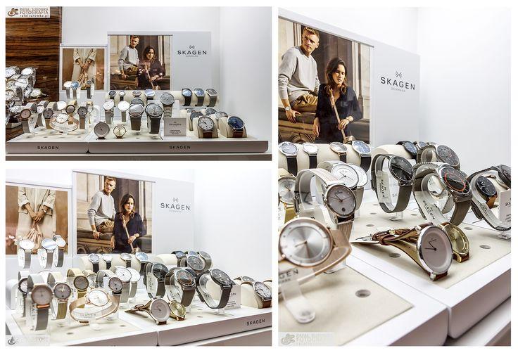 Oto nasza gablotka z zegarkami marki Skagen. Polecamy, zegarki mają gwarancje dożywotnią na tarczę, wskazówki oraz mechanizm. Zapraszamy!