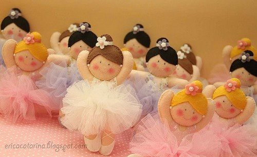 Fieltro, ballerinas