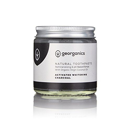 Georganics Remineralizing Natural Organic Coconut Oil Toothpaste. Remineralizing Formula With Organic Coconut Oil & Natural Minerals Georganics natural toothpaste with calcium carbonate and sodium bicarbonate cleans and remineralizes teeth naturally thank