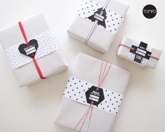 Free Printable Christmas Tags | TOMFO:
