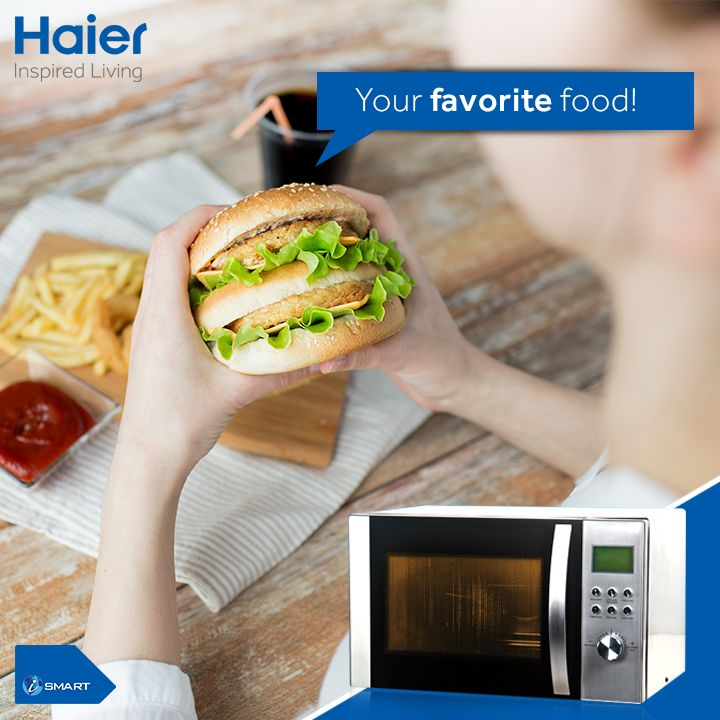 #Haier's #microwaves with its auto cook menus helps you indulge in your favorite dishes from time to time. Share your favorite food with everyone. #Technology #Food #Appliances #Lifestyle #HaierIndia