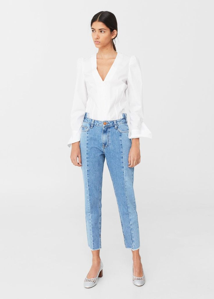 Jean relaxed cameo | MANGO