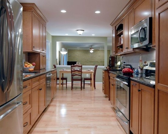 1000 images about galley kitchen ideas on pinterest for Traditional galley kitchens