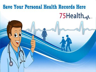 Save your Personal Health Records Safely here http://www.75health.com/personal-health-records.jsp