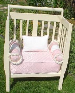 instruction for crib into bench