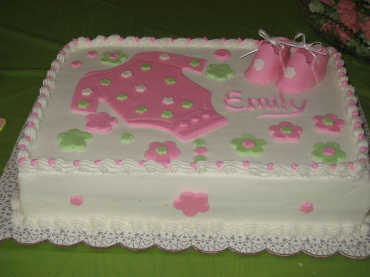 AMAZING BUTTERCREAM FROSTING BABY SHOWER CAKES | Baby Emily's Cake