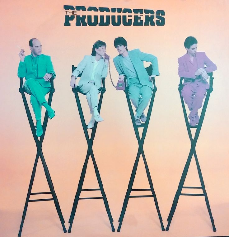 """The Producers,"" The Producers (Portrait, 1981) ... producer: Tom Werman. Great album, underrated band - http://goo.gl/eHzJgB"