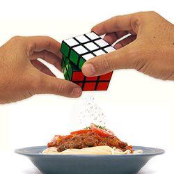 Rubik's Cruet for salt and pepper (for my sister)