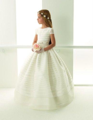 vestidos de primera comunion | Vestidos de primera comunión Rosa Clará primavera 2013