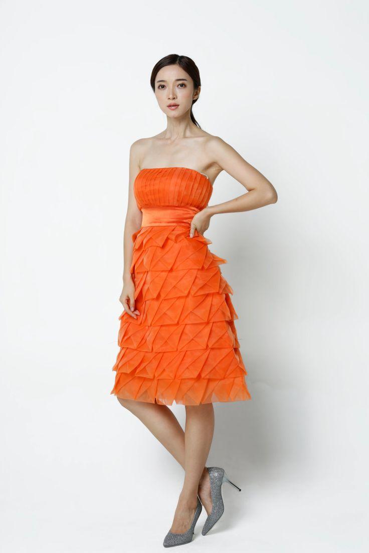 16 best orange bridesmaid dresses images on pinterest orange orange wedding dresstulle party dress by sophiaclothing on etsy ombrellifo Image collections