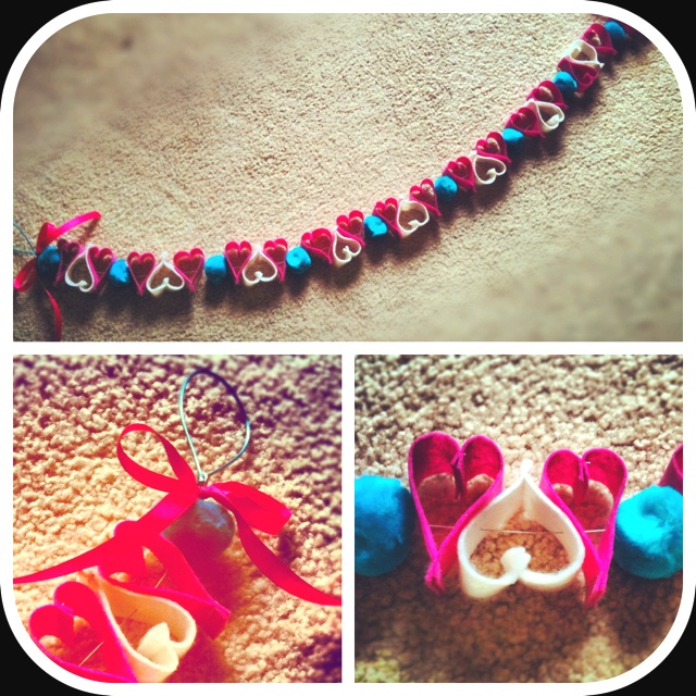 {chubby heart} -by sapphire designs hand made garlands  www.sapphiredesigns.com.au