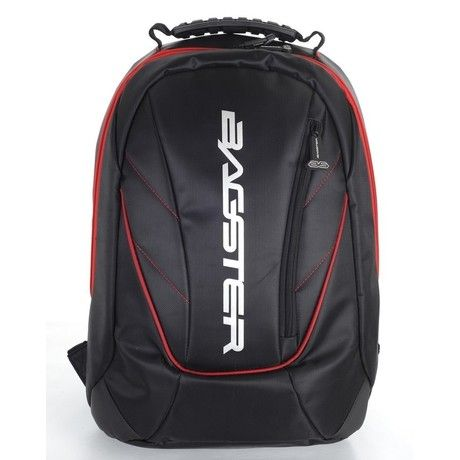 Η τσάντα πλάτης Bagster Venom είναι διαθέσιμη σε μαύρο χρώμα με κόκκινες λεπτομέρειες και έχει ρυθμιζόμενους ιμάντες μεταφοράς, ιδιαίτερα χαμηλό βάρος και πολλές εσωτερικές μεγάλες και μικρές θήκες διαφόρων χρήσεων καθώς και θήκη για laptop ή tablet. Η χωρητικότητά της είναι 16 λίτρα ενώ διαθέτει ανατομική πλάτη, ανακλαστικά σημεία και αδιάβροχη κουκούλα για προστασία από την βροχή.
