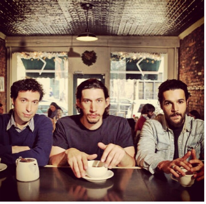 Ray Adam and Charlie. The boys on HBO's GIRLS.