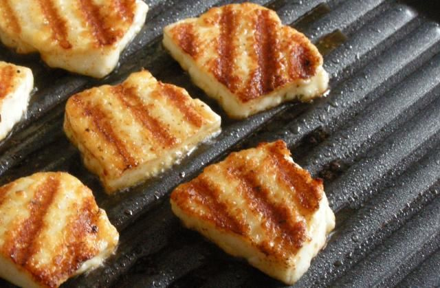 Six things you need to know about vegetarian grilling: Vegetarian Grilling Tip #3: You can grill cheese. Yes, CHEESE!
