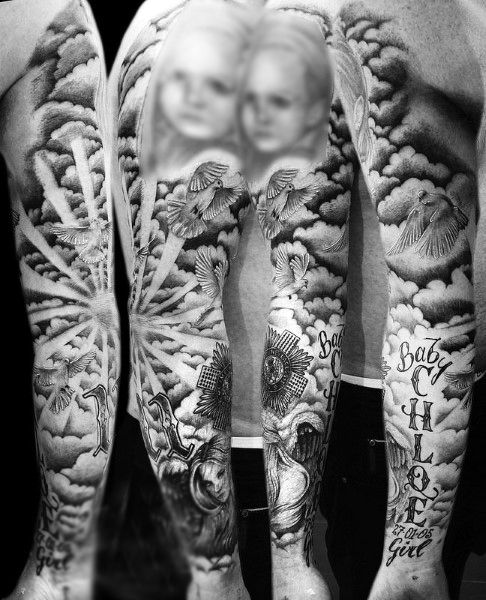 15 best ideas about cloud tattoo sleeve on pinterest for Higher ground tattoo