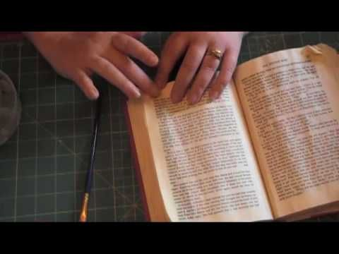 book altered tutorial