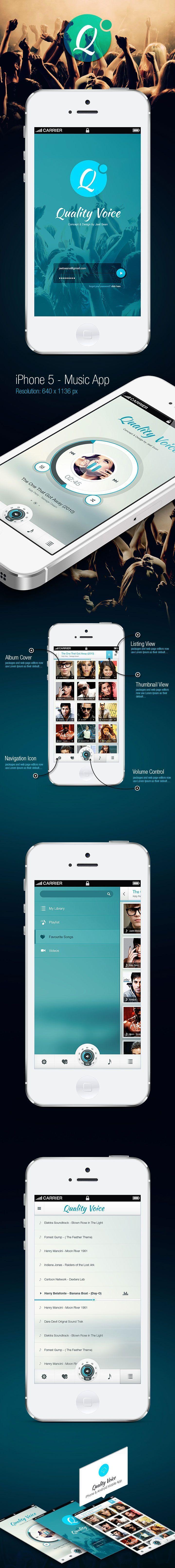 Inspiration mobile #1 : des applications et du web design !   Blog du Webdesign