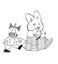 find this pin and more on max and ruby birthday party max ruby coloring page