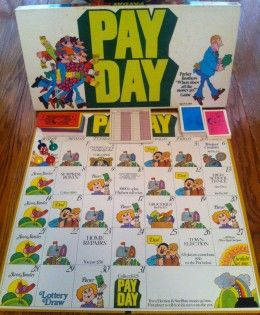 Payday board game. Just bought a new copy as our old one wore out.