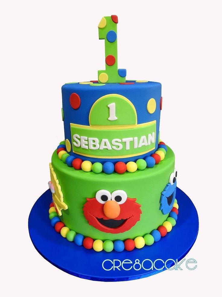 Best 25 Sesame street birthday cakes ideas on Pinterest Sesame
