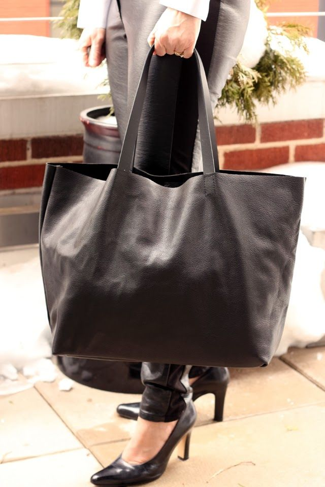 Make a DIY Celine-inspired leather tote and enter a giveaway for $50 in really great leather.      Several weeks ago Leather Hide Store...
