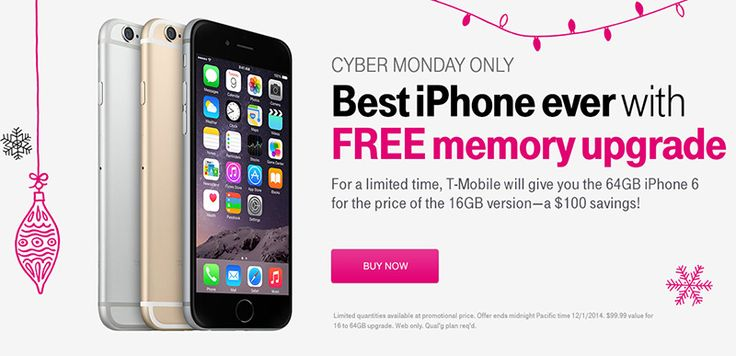 Best iPhone Deals for the 2016 Cyber Monday Sales  #CyberMonday #iPhone http://gazettereview.com/2016/11/best-iphone-deals-2016-cyber-monday-sales/