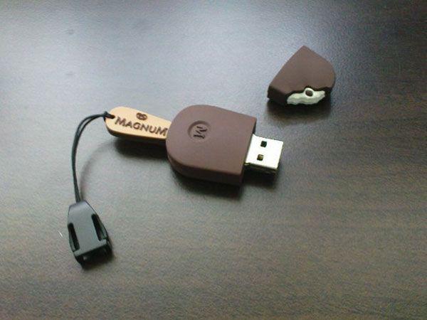 Magnum ice cream USB stick!!! So cute!