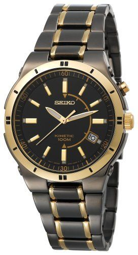 Seiko Men's SKA366 Kinetic Black Ion Watch Seiko, http://www.amazon.com/dp/B001BM8GFM/ref=cm_sw_r_pi_dp_fjznrb0C62WXW