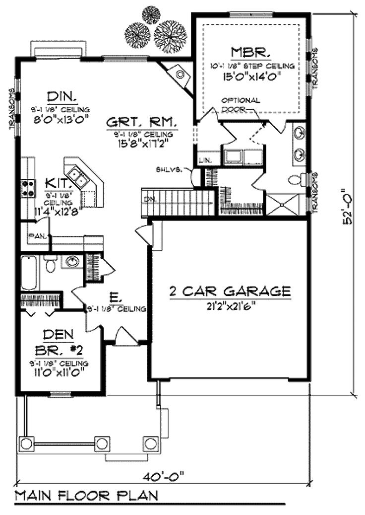 284 best bungalows under 1400 sq 39 images on pinterest for House plans under 1400 sq ft