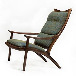 I have a Sam Maloof chair I inherited from my aunt, which is almost like