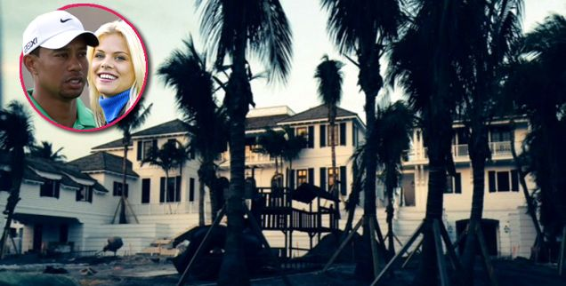 The House That Tiger Woods' Cheating Built: Elin Nordegren Completing $20 Million Beach Mansion
