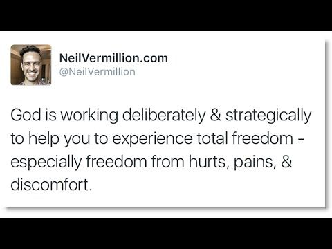 Daily Prophetic Word: Freedom From Hurts, Pains, And Discomfort
