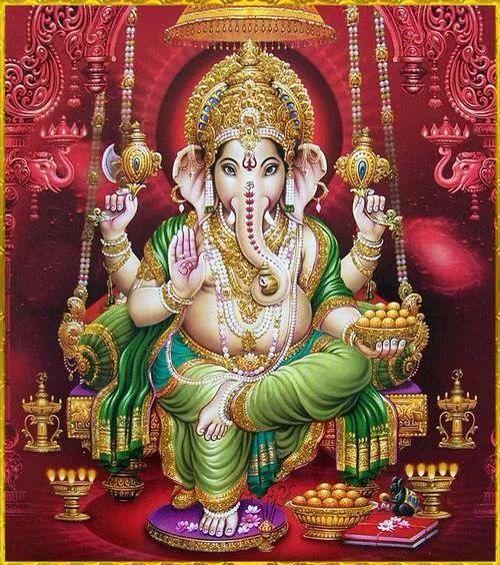 Beautiful Artwork of #Ganesha