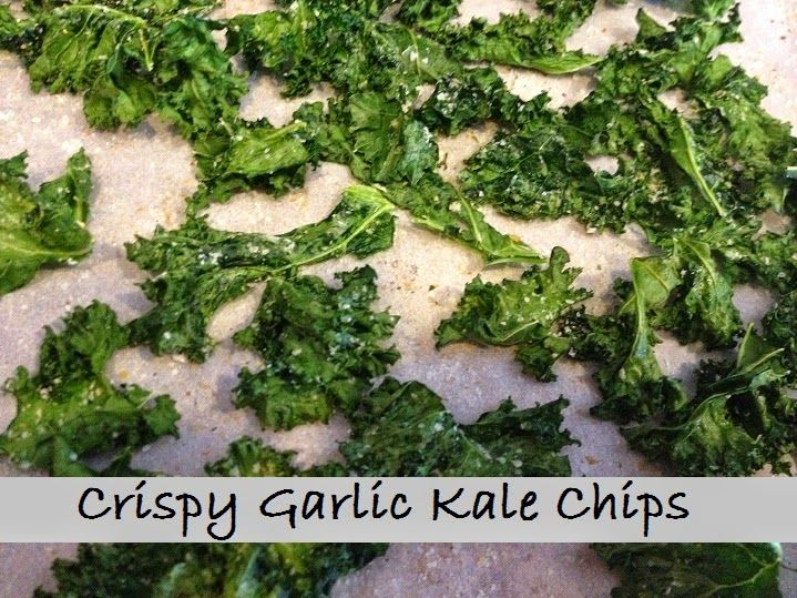 Soup on the Rocks: Crispy Garlic Kale Chips (FMD Phase 1, 2, 3)