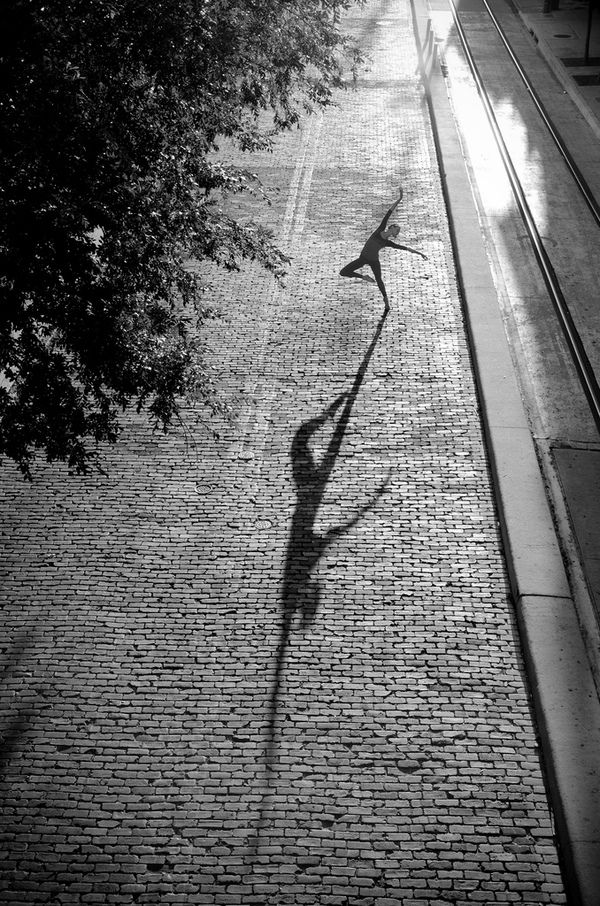 I don't dance in the shadows ... I am the shadow