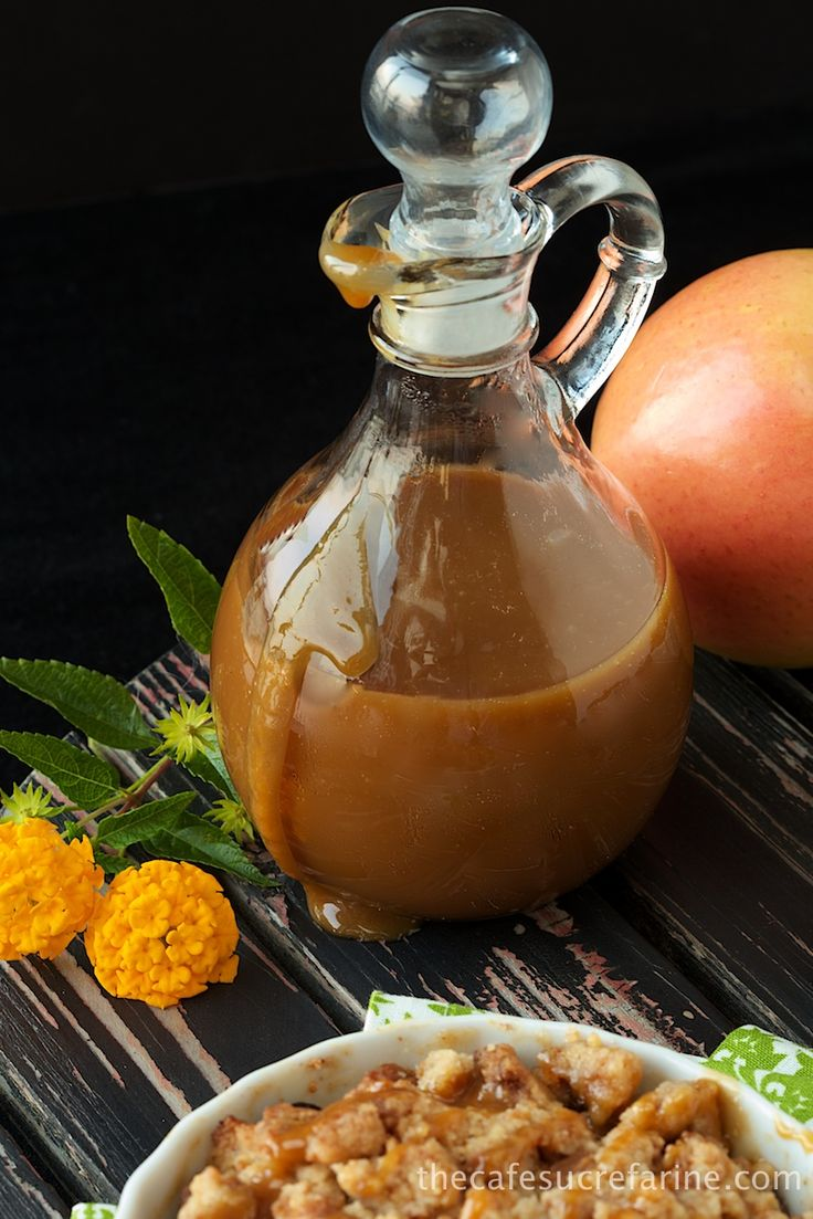Ridiculously Easy Caramel Sauce - thecafesucrefarine.com