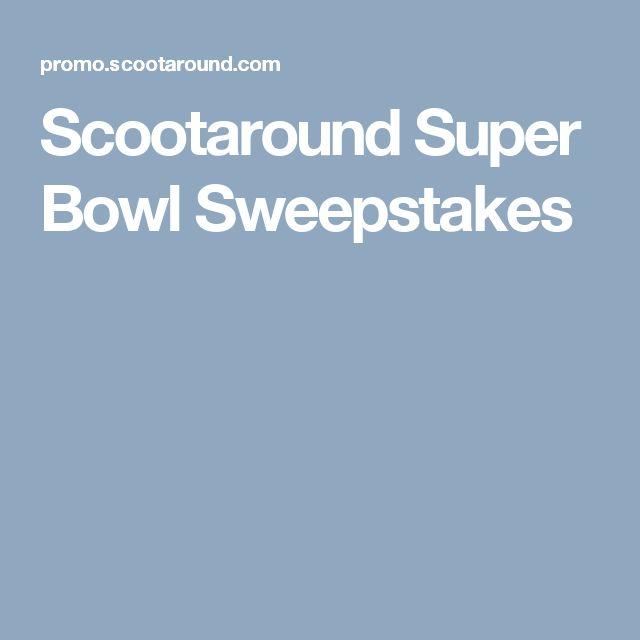 Scootaround Super Bowl Sweepstakes