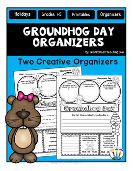 Groundhog Day : Groundhog Day Organizers : Is your class celebrating Groundhog Day?Groundhog Day is a yearly tradition held on February 2nd where a groundhog, named Punxsutawney Phil, predicts how long winter will last. Celebrate this special holiday with this creative and interactive pack!