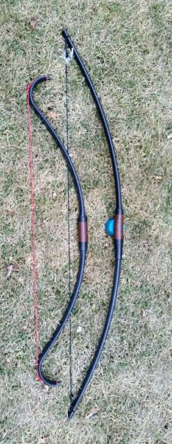 PVC Bows By Pro Archer On Etsy, PVC Has Recently Been Accepted As A Great Sturdy And Economical Choice For Beginners, Children, Or Even Pros Looking For A Light And Fast Bow, These Mordor LOTR Bows Com As Longbows, Or Recurve, And Come in 25, 35, and 45 Lbs. So If You haven't tried a PVC Bow Make Sure To Pick One Up. @homemadeweaponry