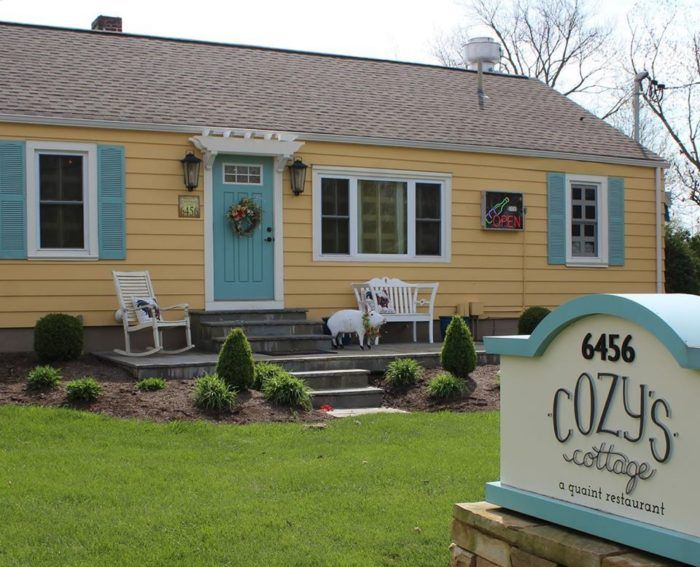 You'll Never Want To Leave This Whimsical Cottage Restaurant In Ohio