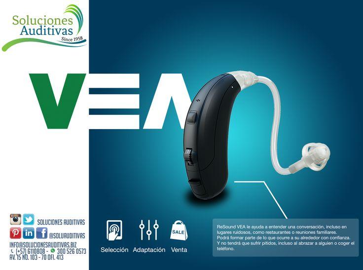 Audífonos VEA! Pregúntalos en #SolucionesAuditivas Tel: 6110808 - Whatsapp: 300 5260573