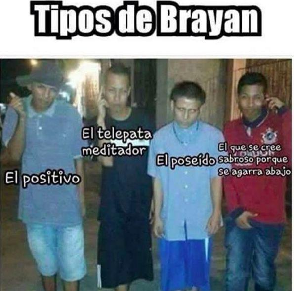 Nuestro favorito: El Brayan poseído.