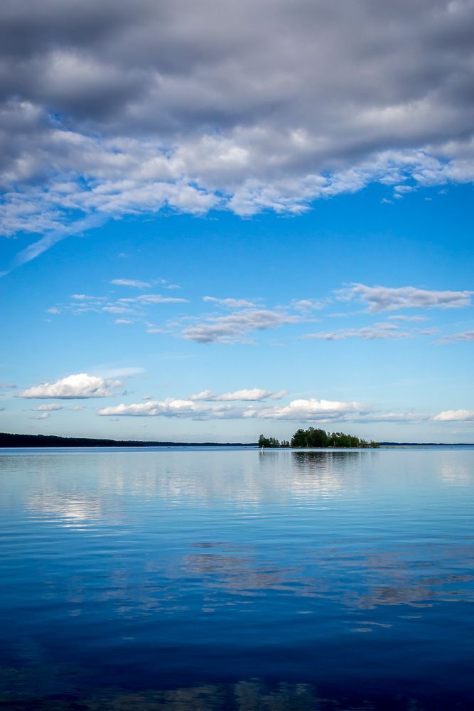 Quintessential Finland from lake Saimaa. This was actually the first time I had seen Finland's largest lake in person.
